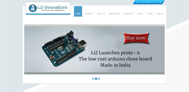 Li2 Innovations Dot Angle Web Designing And